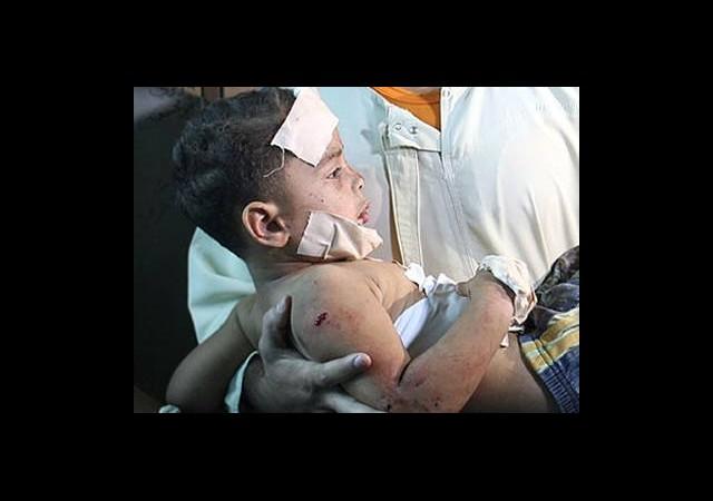 İsrail Militan Diye Çocukları Vurdu!