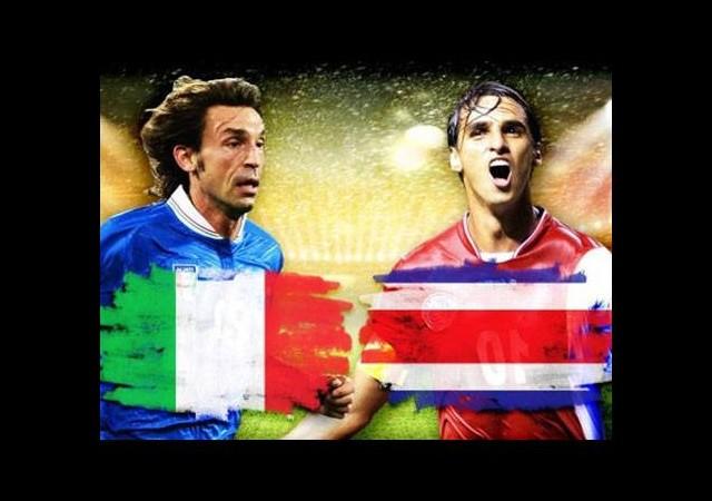 İtalya - Kosta Rika maçın golleri