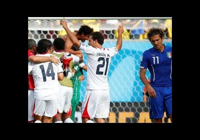 Kosta Rika'dan büyük sürpriz (İtalya - Kosta Rika maç özeti)