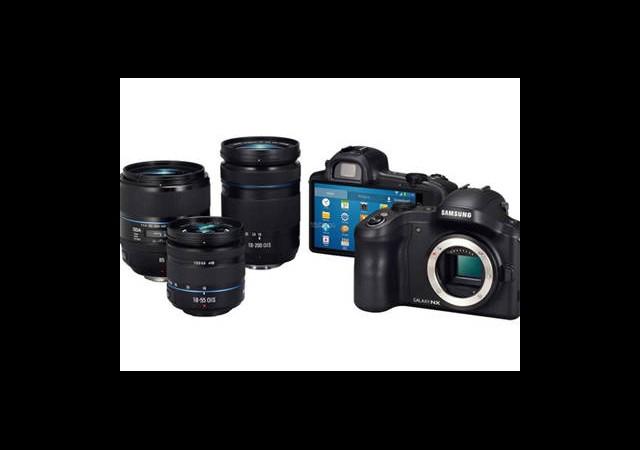 Samsung Galaxy NX Kamera Ortaya Çıktı