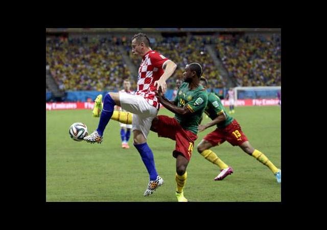 Hırvatlar 3 puanın sahibi oldu (Kamerun - Hırvatistan maç özeti)