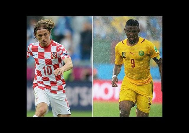 Kamerun - Hırvatistan maçı saat kaçta?