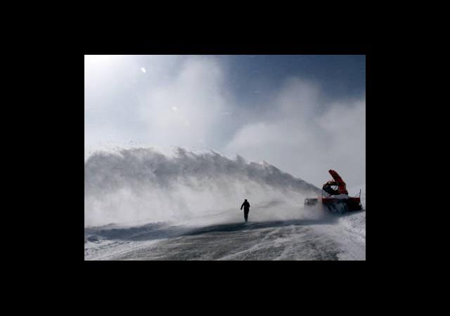 Ekvator Uzunluğunda ''Kar Temizliği''