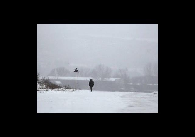 Kar Avrupa'yı Esir Aldı!