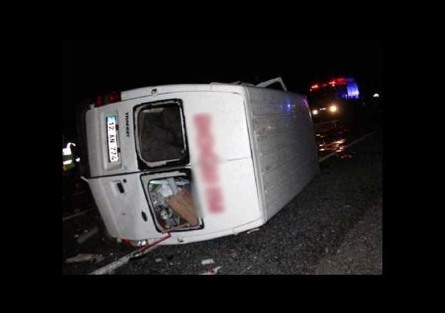 Elazığ'da kaza: 5 ölü!