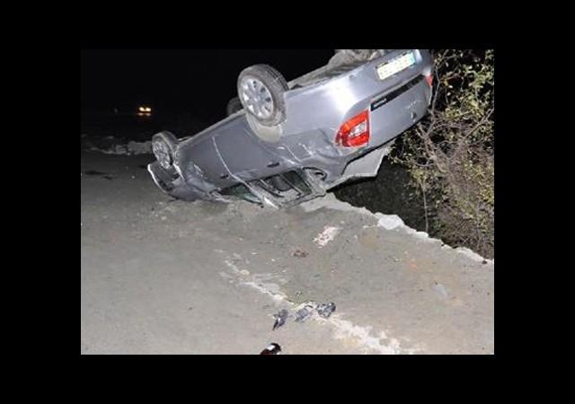 Alkollü Sürücü Trafik Kazasında Öldü