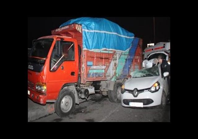 Bakırköy'de Kaza: 1 Ölü, 1 Yaralı
