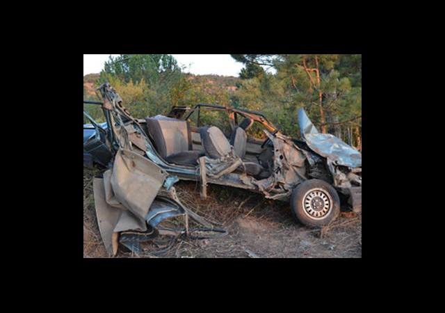 Çocuk Şoför Kaza Yaptı