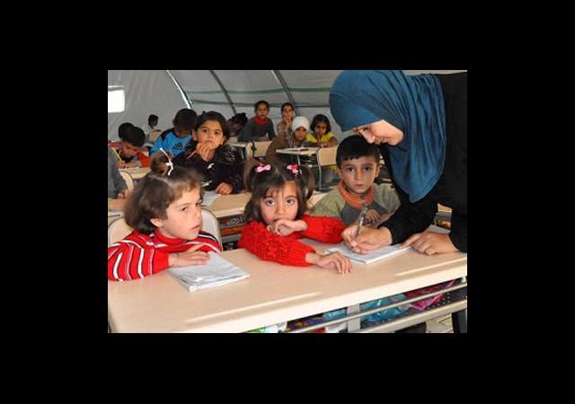 Çadır Kentlerde ''Dersler'' Aksamadı