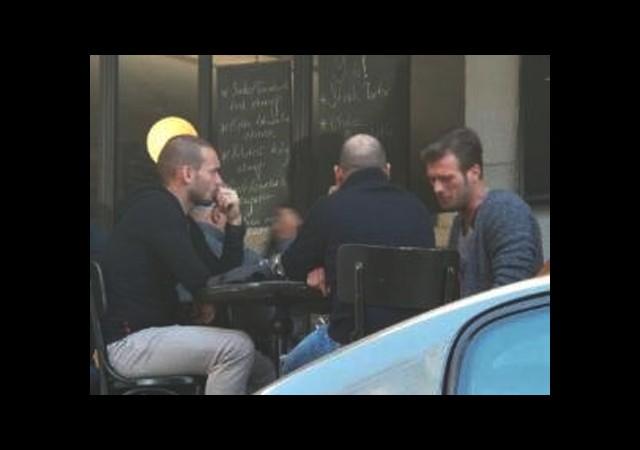 Kıvanç  ve Sneijder Dostluğu Pekişti