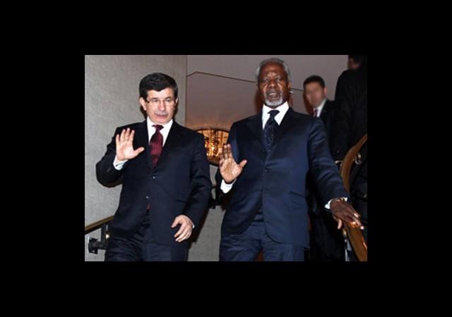 Kofi Annan İle Suriye'yi Görüştü