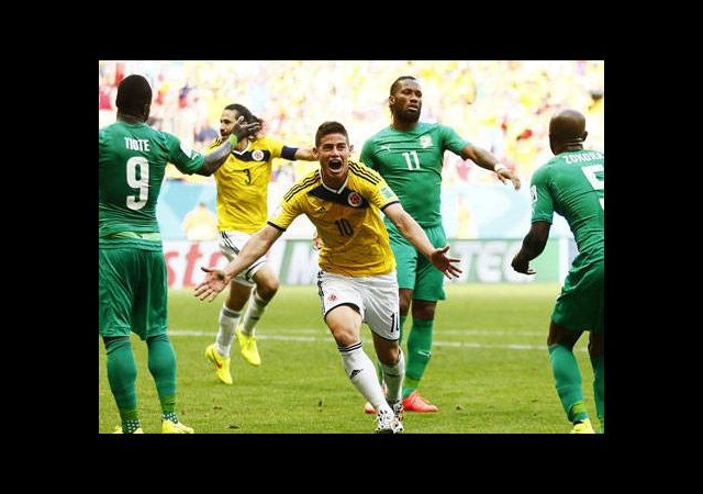 Kolombiya – Fildişi Sahili maçının golleri