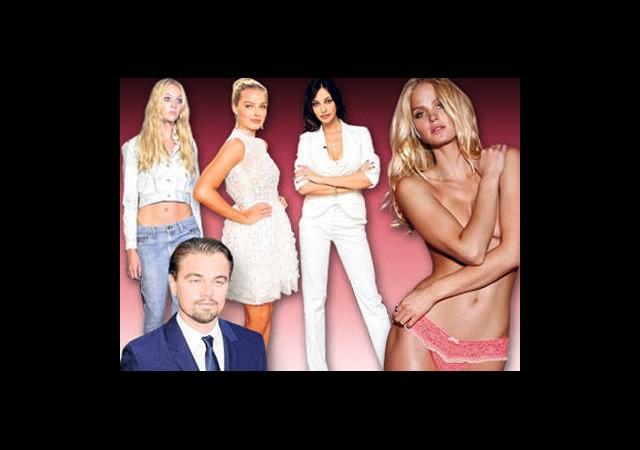 İşte Leonardo DiCaprio'nun Son 7 Güzeli!