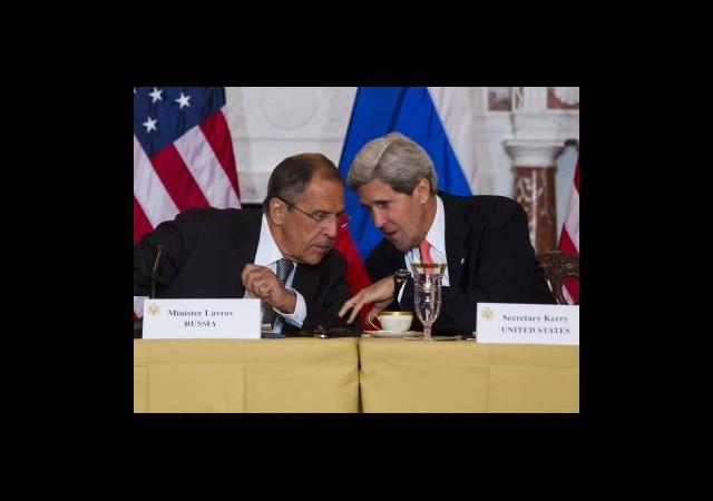 Kerry ve Lavrov Hasarı Onarmak İçin Görüştü