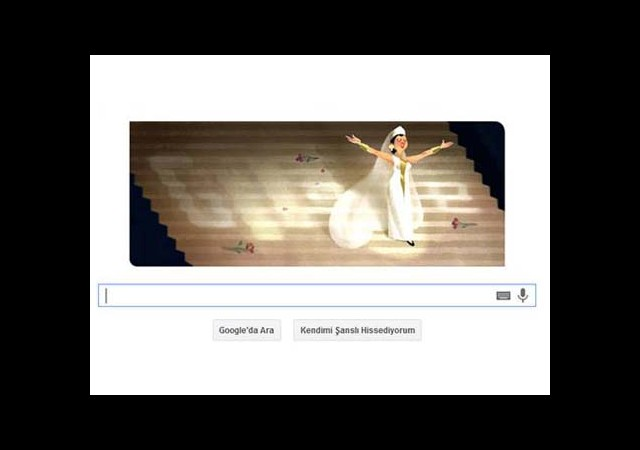 Google Leyla Gencer'i Unutmadı !