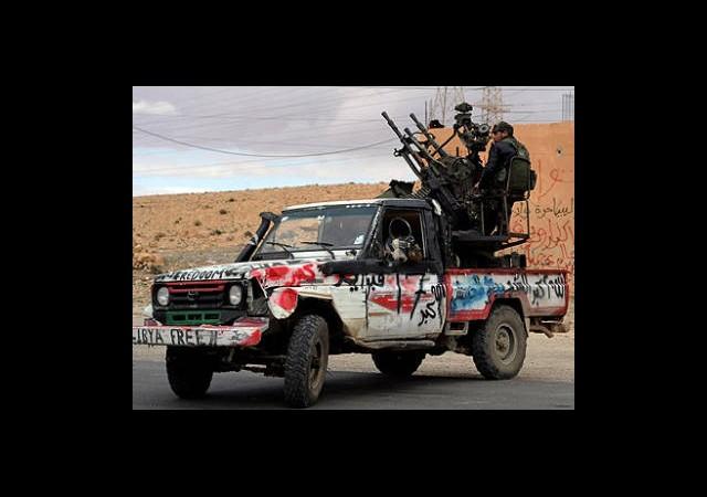Libya'da Çatışma