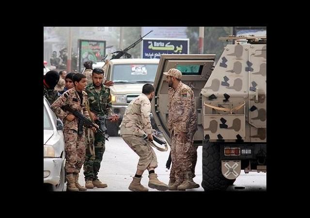 Libya'da askeri darbe girişimi