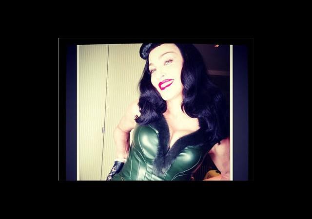 Madonna'ya Sert Uyarı!