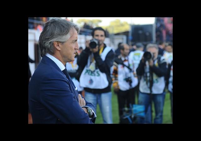 Mancini'nin Arena'daki İlk Maçı