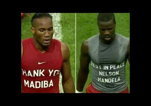 Cimbom'un Yıldızları Mandela'yı Unutmadı