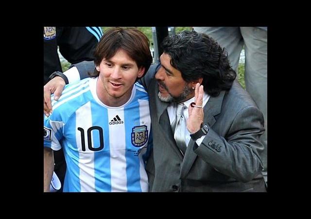 Maradona, Arjantin'i Bıraktı!