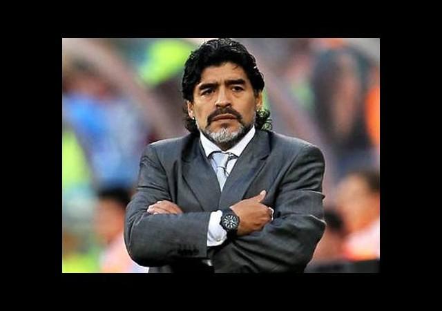 Maradona Brezilyalıları kızdırdı!