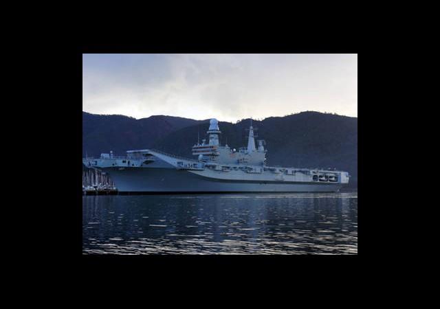 Marmaris Esnafının Yüzünü İtalyan Uçak Gemisi Güldürdü