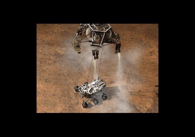 Curiosity Çalacak Dünya Dinleyecek