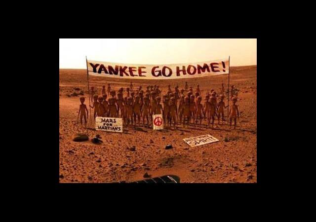 Mars'ta NASA Protestosu!