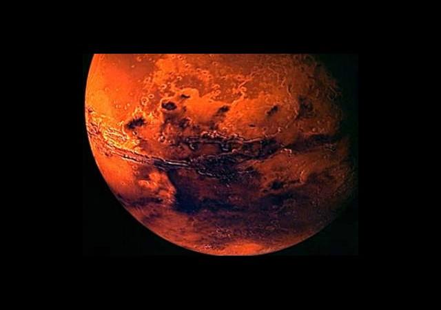 Yaşam Önce Mars'ta Başlamış!