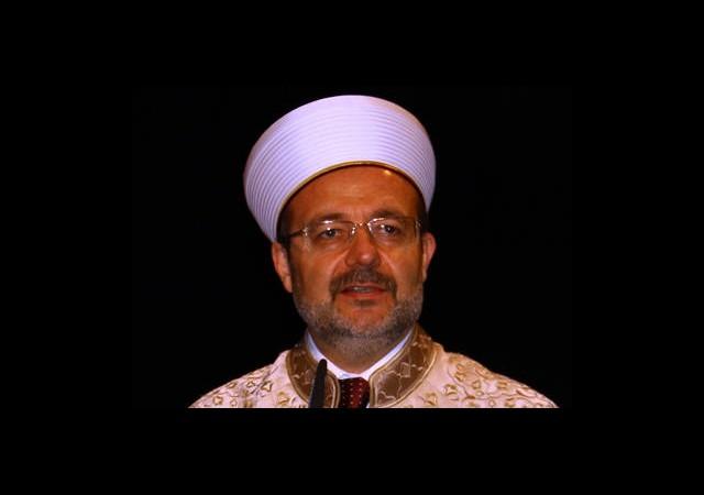 Mehmet Görmez'den 'Kandil' Mesajı