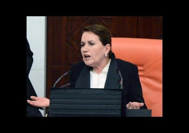 Meral Akşener'den Kamer Genç'e sert tepki
