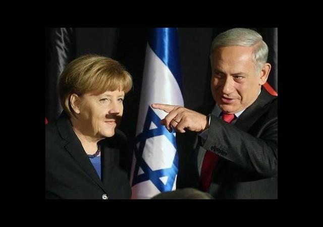 Merkel'e gölge bıyık
