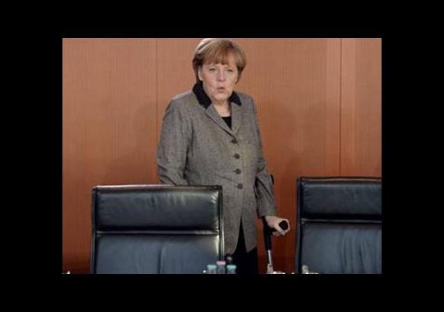 En sert tepki Merkel'den