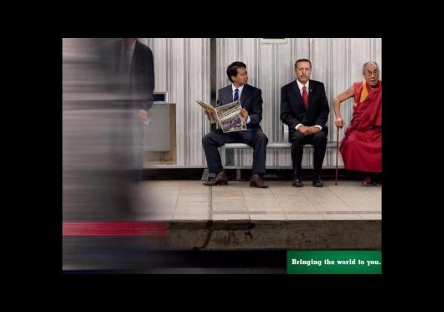 Erdoğan 'Metro'da!