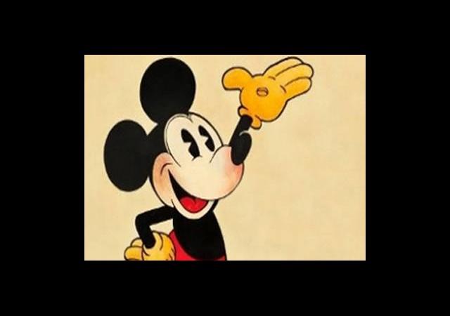 Mickey Mouse'a Servet!