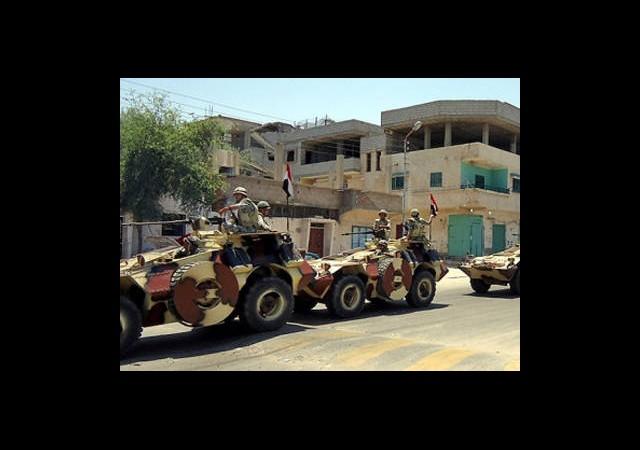 Mısır Tankları İsrail Sınırında!