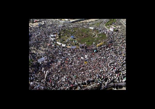 Binlerce Kişi Şeriat İçin Toplandı