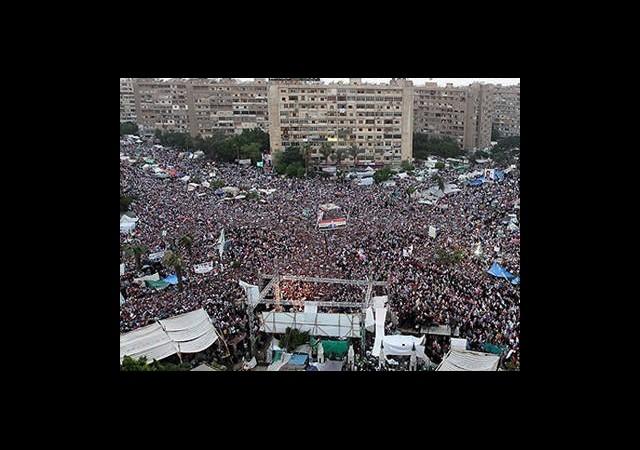 'Darbeye Karşı Milyonluk' Gösteri