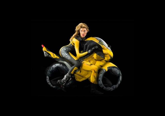 Uzaktan Motosiklete Benziyor Ama...