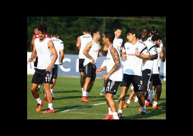 Beşiktaş'ta Arsenal hazırlıkları başladı