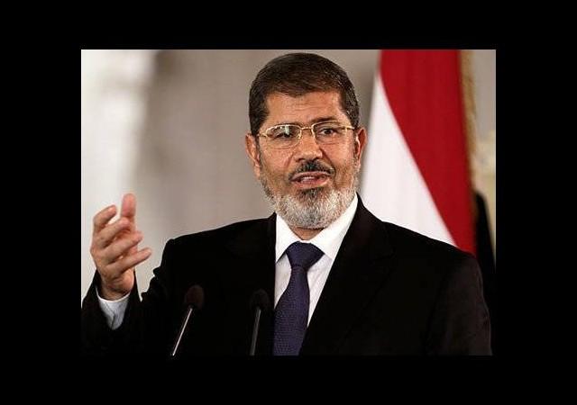 Mursi'den, Erdoğan'a tebrik mesajı..
