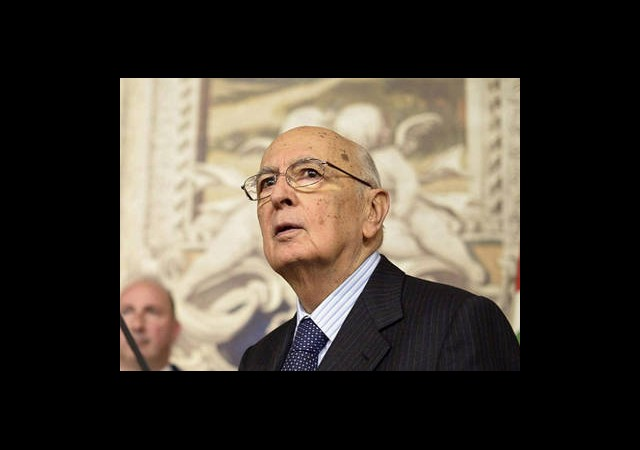 Napolitano İkinci Kez Seçildi