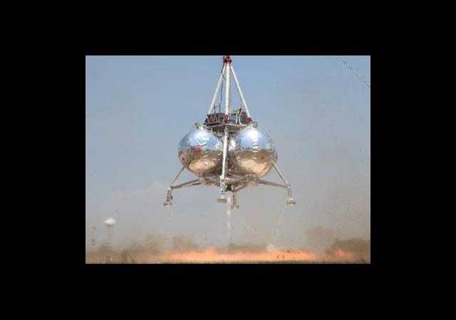 Test Uçuşundaki Uzay Aracı Düştü