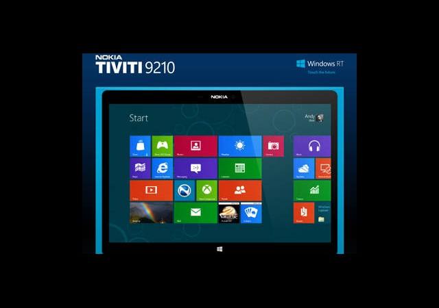 Nokia'nın Windows Tablet ve Phableti Geliyor Olabilir