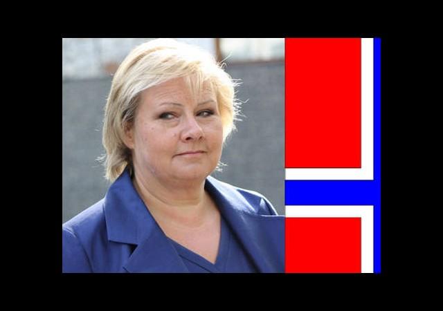 Norveç'te Seçimin Galibi Erna Solberg