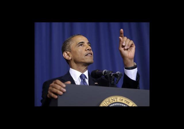Obama Hollande İle Görüştü