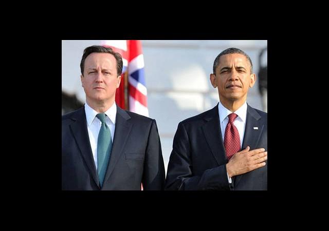 Obama ve Cameron Arasında Kritik Suriye Zirvesi!