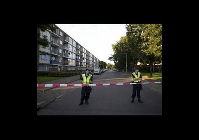 Hollanda'da Türk Mahallesine Tahliye