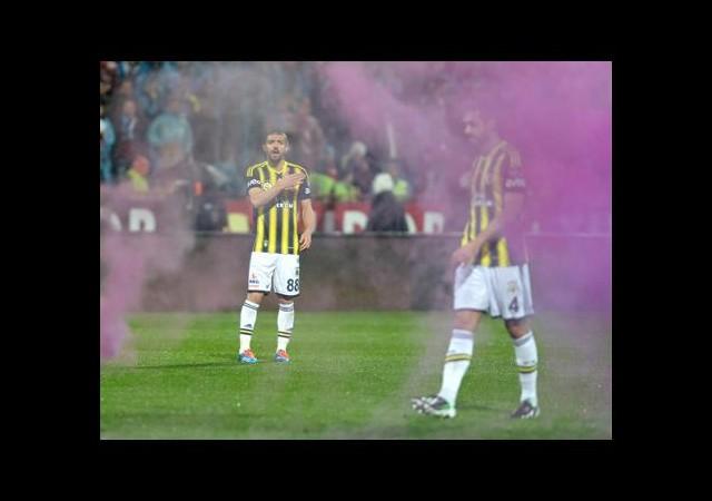 Trabzon'da olaylı maç
